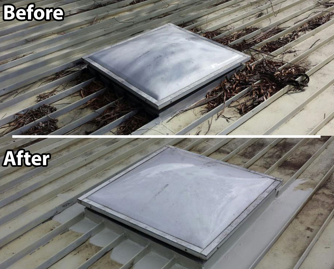 Skylight Re Sealing Roof Restorations Reroofs Roof